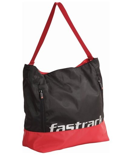 Picture of Fastrack Shoulder Bag (Black) A0504NBK01