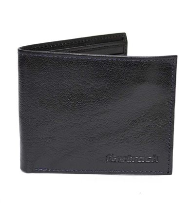 Picture of Fastrack Black Leather Wallet For Men C0370LBR01