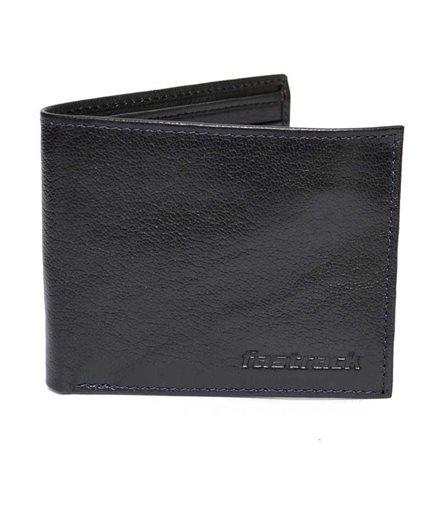 Picture of Fastrack Black Leather Wallet For Men C0370LBR01