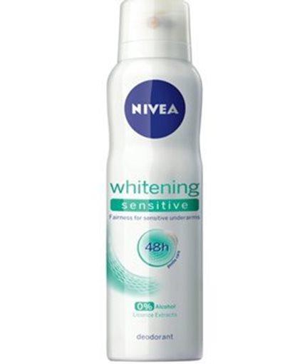 Picture of Nivea Whitening sensitive Deodorant For Women(150 ml)